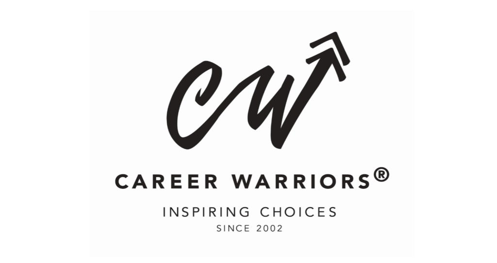 Career Warriors logo white